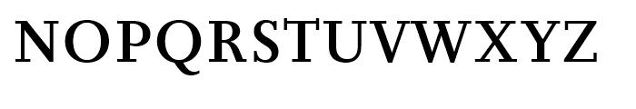 Joanna Nova Medium Font UPPERCASE