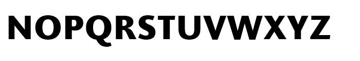 Joanna Sans Nova Black Font UPPERCASE