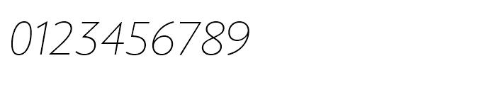 Joanna Sans Nova Thin Italic Font OTHER CHARS