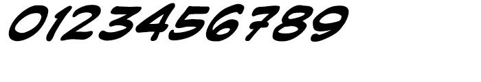 Joe Kubert Intl Bold Italic Font OTHER CHARS