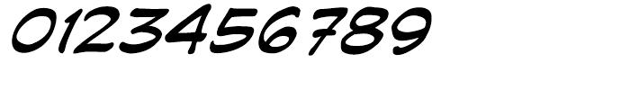 Joe Kubert Intl Italic Font OTHER CHARS