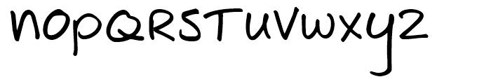 Joe Schmoe Regular Font LOWERCASE