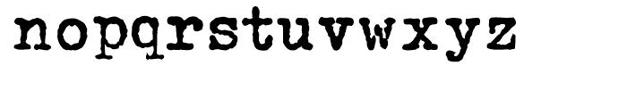 John Doe Bold Font LOWERCASE