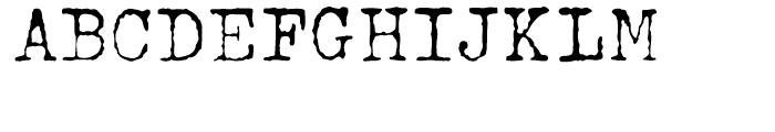 John Doe Regular Font UPPERCASE