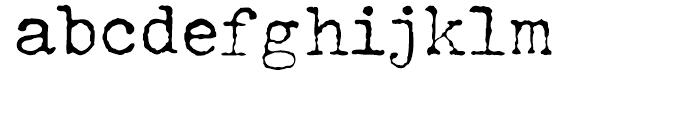 John Doe Regular Font LOWERCASE