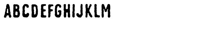Johnstemp Bold Font UPPERCASE