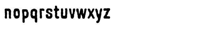 Johnstemp Bold Font LOWERCASE