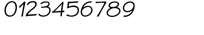 JollyGood Proper Light Italic Font OTHER CHARS