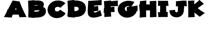 JollyGood Proper Unicase ExtraBlack Font UPPERCASE