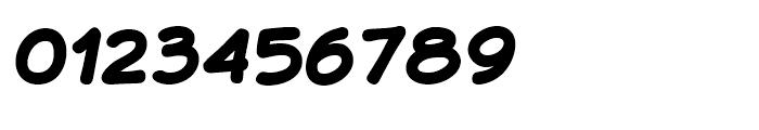 JollyGood Sans Black Italic Font OTHER CHARS