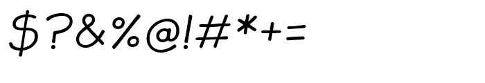 JollyGood Sans Light Italic Font OTHER CHARS