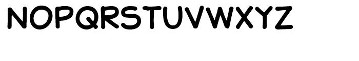 JollyGood Sans Unicase Regular Font UPPERCASE