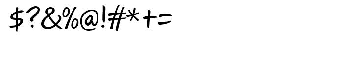 Josh Handwriting Regular Font OTHER CHARS