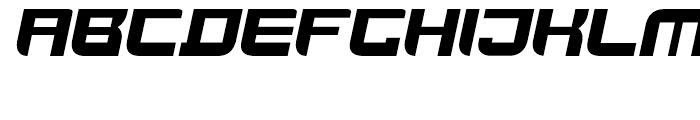 Joy Rider Black Italic Font UPPERCASE