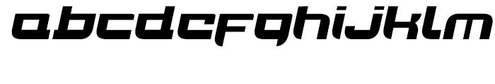 Joy Rider Black Italic Font LOWERCASE