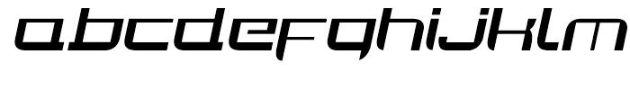 Joy Rider Regular Italic Font LOWERCASE