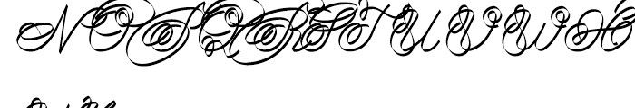 Joyosa Normal Font UPPERCASE