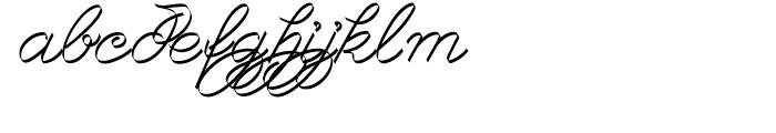 Joyosa Normal Font LOWERCASE