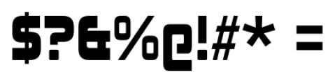 Johnny Fever Regular Font OTHER CHARS