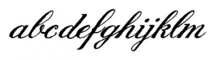 Joya English Script Font LOWERCASE