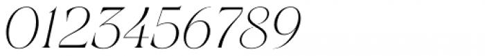 Joane Italic Thin Font OTHER CHARS