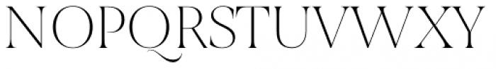 Joane Thin Font UPPERCASE