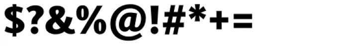 Joanna Sans Nova Black Font OTHER CHARS