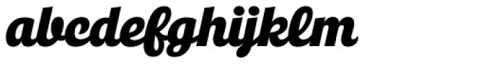 Jocham Italic Font LOWERCASE