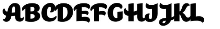 Jocham Font UPPERCASE