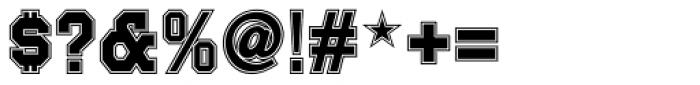 Joe College Sans Inline NF Font OTHER CHARS