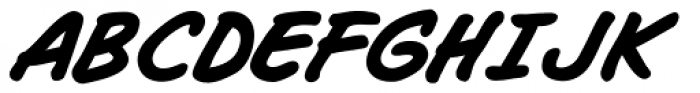Joe Mad Bold Italic Font UPPERCASE
