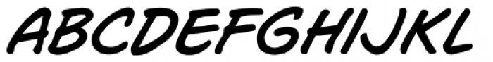 Joe Mad Italic Font LOWERCASE
