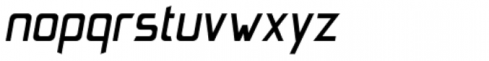 Johann Bold Italic Font LOWERCASE