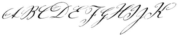 Johann Sparkling Std Font UPPERCASE