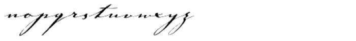 Johann Sparkling Std Font LOWERCASE