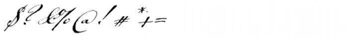 Johann Sparkling Font OTHER CHARS