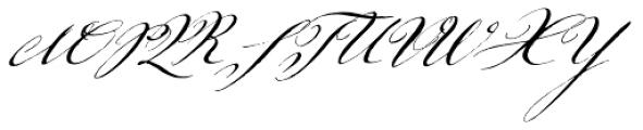 Johann Sparkling Font UPPERCASE