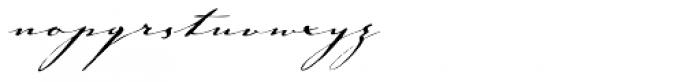 Johann Sparkling Font LOWERCASE