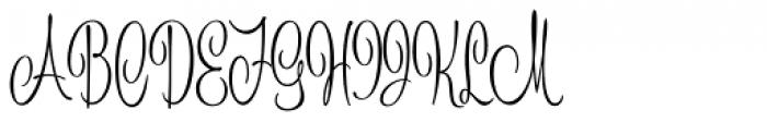 Johanna Whimsy JF Font UPPERCASE