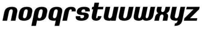 Johanneke Heavy Italic Font LOWERCASE