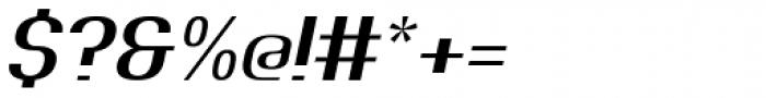 Johanneke Light Italic Font OTHER CHARS