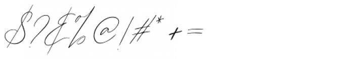 John Davidson Regular Font OTHER CHARS