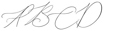 John Davidson Regular Font UPPERCASE