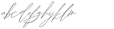 John Davidson Regular Font LOWERCASE
