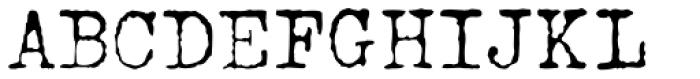 John Doe Font UPPERCASE