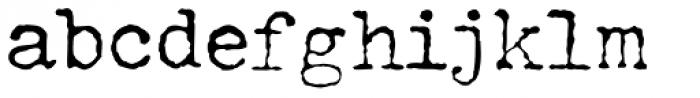 John Doe Font LOWERCASE