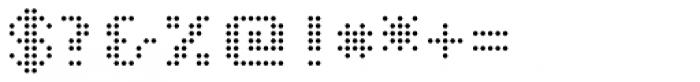 John LED7 Light Font OTHER CHARS