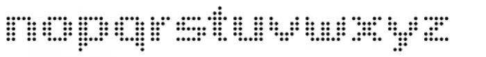John LED7 Light Font LOWERCASE