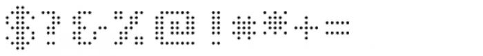 John LED7 Ultra Light Font OTHER CHARS