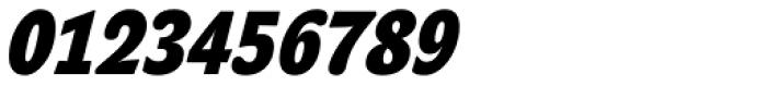 John Sans Cond Heavy Bold Italic Font OTHER CHARS